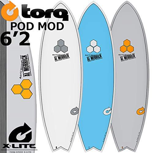 数量限定価格!! TORQ SurfBoard MERRICK 6'2 トルク サーフボード POD MOD 6'2 [GRAY PINLINE] [GRAY AL MERRICK アルメリックサーフボード B07CJDNR7X, ABISTE:0c61f756 --- ciadaterra.com