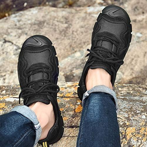 トレッキングシューズ メンズ ハイカット 防滑 登山靴 軽量 ハイキングシューズ 厚い底 ハイシューズ 耐摩耗性 アウトドア ウォーキングシューズ 大きいサイズ 四季通用 カジュアル 衝撃吸収 遠足シューズ