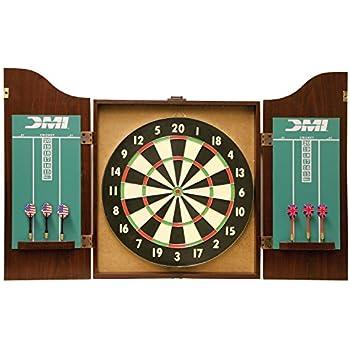DMI Sports Recreational Dartboard Cabinet Set