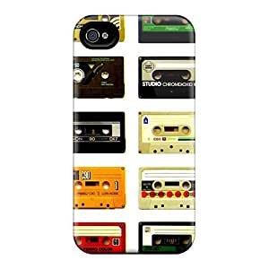 Fashionable Style Case Cover Skin For Iphone 4/4s- Cassette Retro