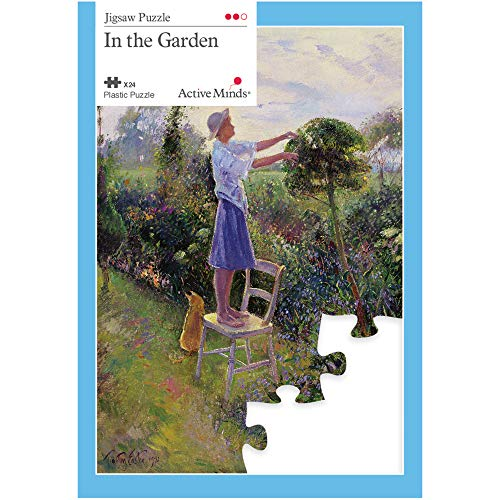 Active Minds 24 Piece in The Garden Jigsaw Puzzle | Specialist Alzheimers / Dementia Activities & Games