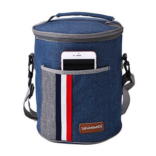 Picnic Backpack, Insulated Camping Cooler Bag, Reusable Food Bag, Removable...