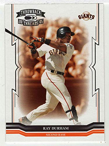 Ray Durham (Baseball Card) 2005 Donruss Throwback Threads # 265 NM/MT