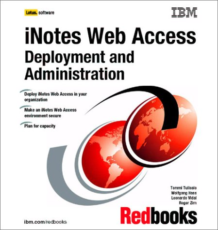 Inotes Web Access  Deployment and Administration
