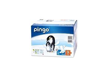 d3d2ecd240fd75 PINGO ökologische Windeln Größe 3 Midi (4 – 9 kg) – Pack 2 x 44 Windeln  Neue Verpackung Kompakt und biologisch abbaubar.  Amazon.de  Baby