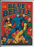 Blue Beetle #8 HOLYOKE / FOX Fine - BB fights to save America from Nazis Golden Age comic 1939 series