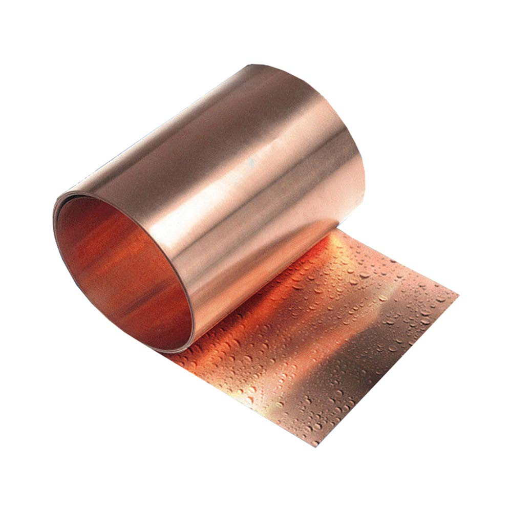 "1PCS 99.9/% Pure Copper 0.1 x 100 x 1000mm 39/"" Cu Metal Sheet Foil"