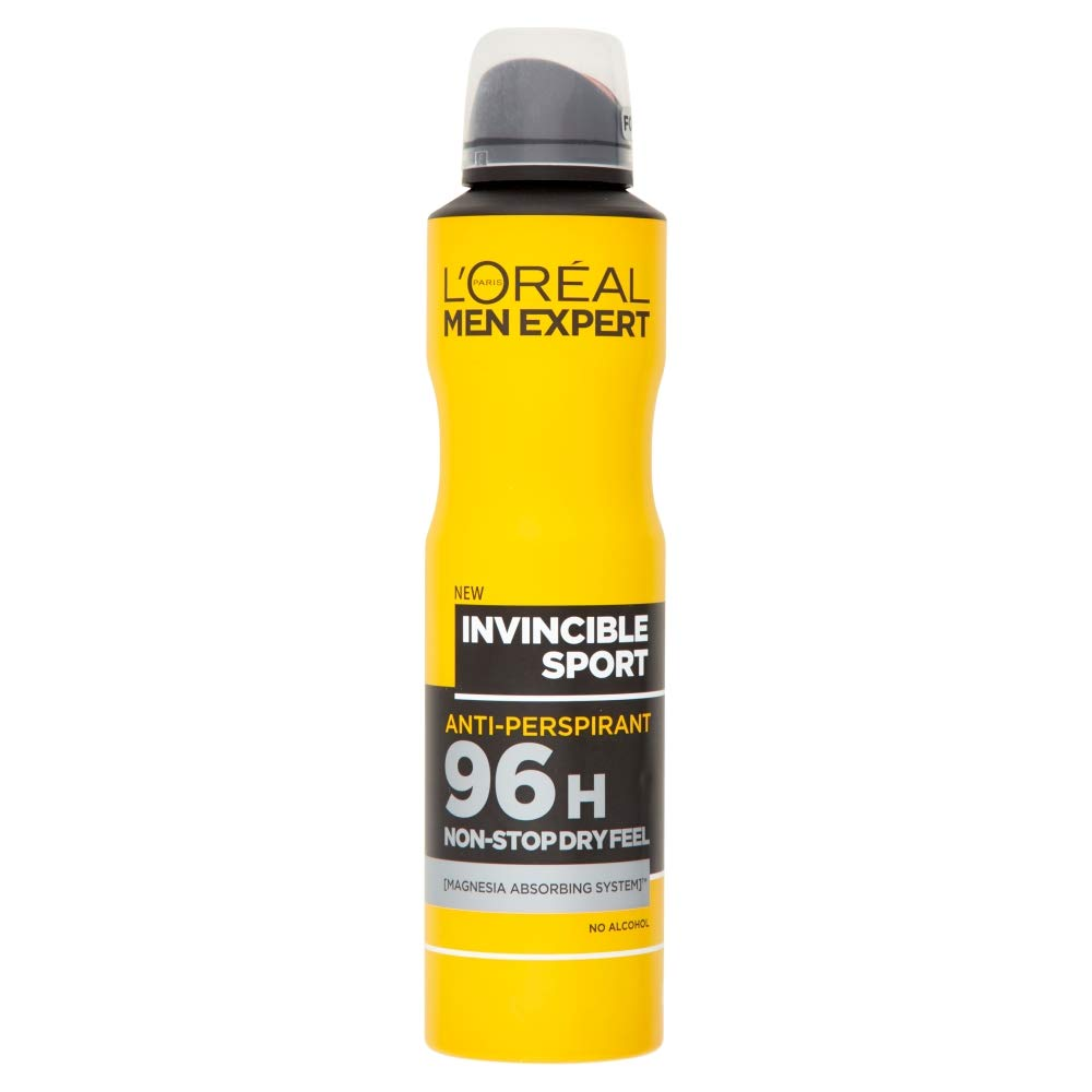 Desodorante antitranspirante LOreal Men Expert Invincible Power: Amazon.es: Belleza