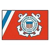 Fanmats Military 'Coast Guard' Nylon Face Starter Rug