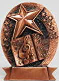 Bronze Music Plaque (Free Shipping)