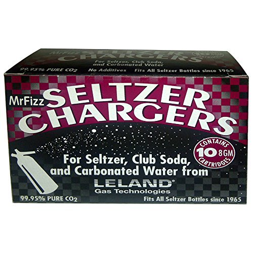120 Leland Mr Fizz 8 Gram Soda Chargers by Mr Fizz by Leland