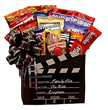 Amazon Red Box Movies And Snacks Gift Box Grocery Gourmet Food