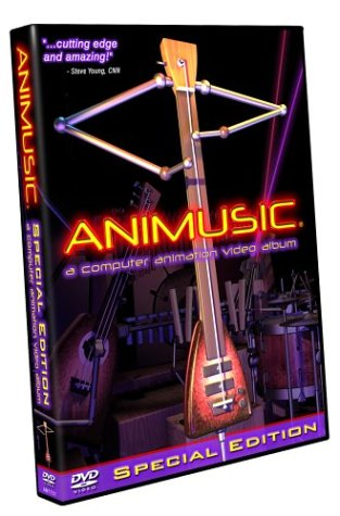 Animusic - A Computer Animation Video Album (Special Edition) (Animusic 2 Dvd)
