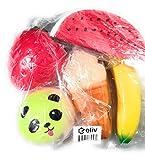 Jumbo Squishies 5 piece, Ice cream cone, Watermelon Review and Comparison