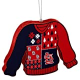MLB St. Louis Cardinals Christmas Sweater Ornament