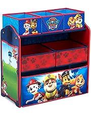 Delta Children Design & Store 6 Bin Toy Storage Organizer, Nick Jr. PAW Patrol