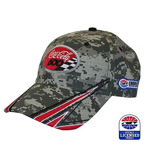 Charlotte Motor Speedway Coca-Cola 600 Digital Camo Hat - Nascar Camouflage Hat