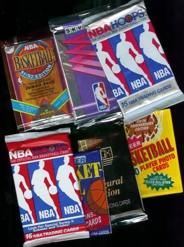 B000G3GSPW 25 Vintage Packs of Basketball Cards (1989-1996!!) [Toy] 51RXDA50DTL