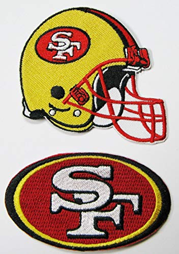 Nfl 49ers Uniform Costumes - NFL SAN Francisco 49ers Embroidered Helmet