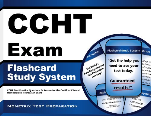CCHT Exam Flashcard Study System: CCHT Test Practice Questions & Review for the Certified Clinical Hemodialysis Technician Exam