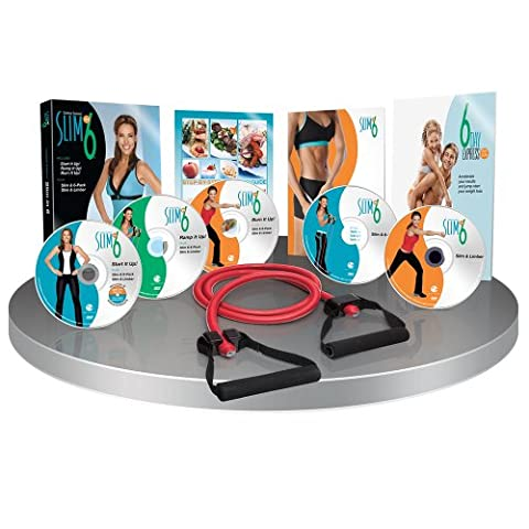 Slim in 6 DVD Workout (At Home Workout Dvd)