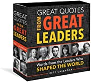 2021 Great Quotes from Great Leaders Boxed Calendar: 365 Inspirational Quotes From Leaders Who Shaped the Worl