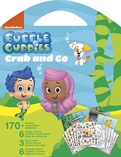 Trends International Bubble Guppies Grab & Go Stickers]()
