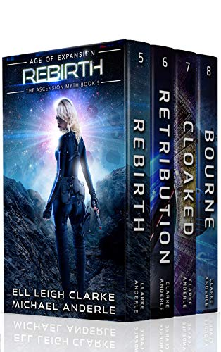 The Ascension Myth Boxed Set (Books 5-8): Rebirth, Retribution, Cloaked, Bourne (The Ascension Myth Boxed Sets Book 2) ()