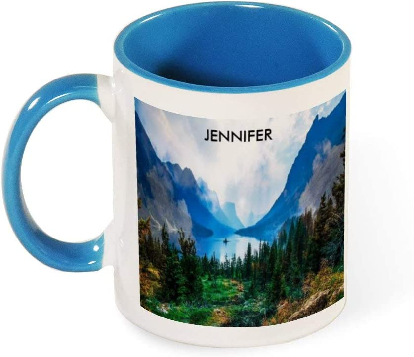 Rustic Country Mountains Nature Scene Photography Best Funny Coffee Mug Sarcastic Novelty Cup Joke Great Gift Idea For Men Women Office Work Adult Humor Employee Boss Coworkers 11 Oz 6 Colors