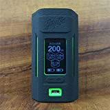 ModShield for Wismec Reuleaux RX2 20700 200W TC Silicone Case ByJojo Cover Shield Wrap Skin (Black)