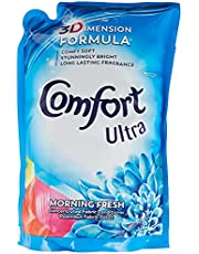 Comfort Ultra Concentrated Fabric Softener Refill, Morning Fresh, 1.6L