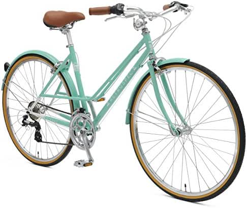 Retrospec Bicycles Kinney 14-Speed Vintage Hybrid Mixte Bicycle