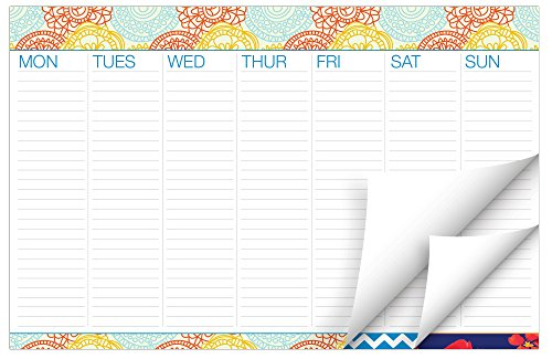 Weekly Wall Calendar - Weekly Desk to Do Pad 11