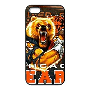 Happy Chicago Bears Fahionable And Popular Back Case Cover For Iphone 5s