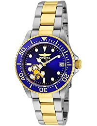 Womens Character Collection Automatic Stainless Steel Diving Watch, Color:Two Tone (