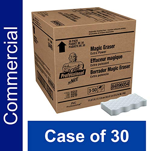 PampG Professional Magic Eraser from Mr Clean Professional Bulk Extra Power MultiPurpose Cleaning Pads Case of 30  10037000164491