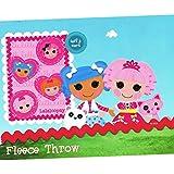 Lalaloopsy Blanket Micro Plush Fleece Throw