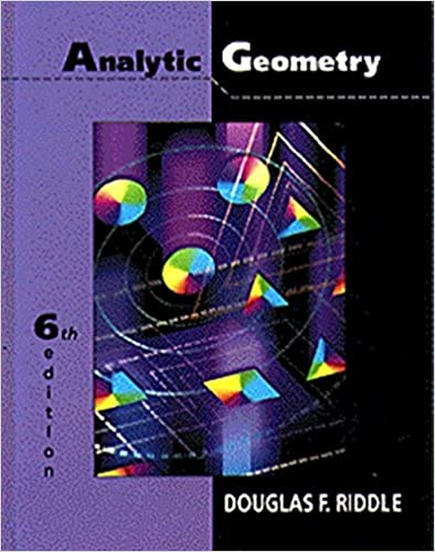 Analytic geometry douglas f riddle 9780534948542 amazon books analytic geometry 6th edition fandeluxe Choice Image