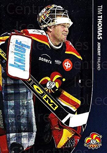 (CI) Tim Thomas Hockey Card 2004-05 Swedish Pure Skills (base) 117 Tim - Hockey Thomas Tim
