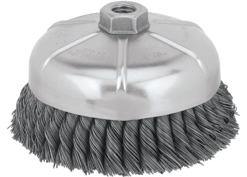 DEWALT DW4917 6-Inch Knotted Cup Wire Brush ()