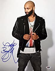 """We are proud to offer the following SIGNED and AUTHENTICATED 11"""" x 14"""" photo of Joe Budden. The photo is printed on Kodak type professional paper and is in BRAND NEW/NEVER BEFORE DISPLAYED condition. This signed photo is NOT a reproduction, c..."""