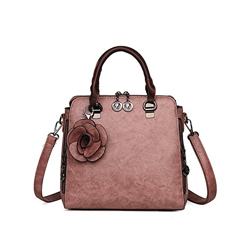 Borsa Bag Tracolla Xzw Pink Viaggio Da Women's Per Capacità A Di Grande 5q1OWOEF