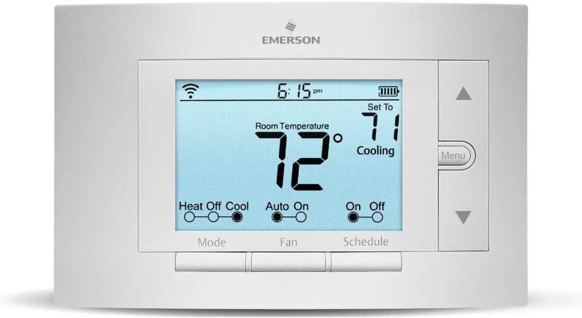 Sensi Smart Thermostat, Wi-Fi, UP500W, Works with Amazon Alexa by Emerson Thermostats