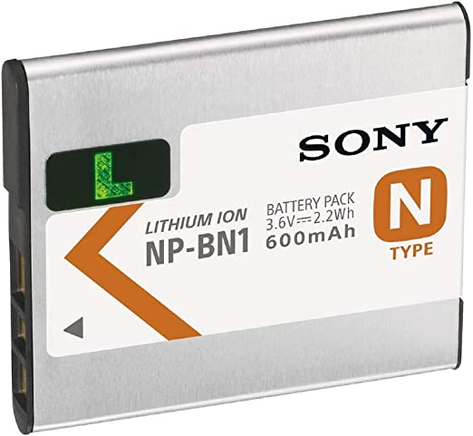 Sony Np Bn1 N Serie Lithium Ionen Akku Kamera