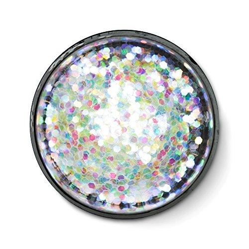 Fine Polyester Glitter, Opalescent Mix, 1/2 ()