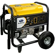 Subaru SGX3500 7.0 HP Gas Powered Commercial Generator, 3500W