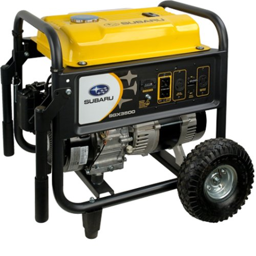 Subaru SGX3500 7.0 HP Gas fueled professional Generator, 3500W Suitable Price