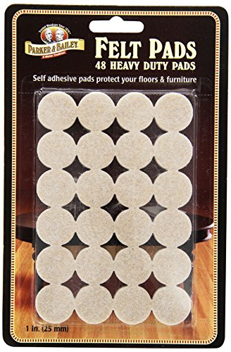 - Parker Bailey cleaning product 48 Piece Heavy Duty Felt Pads