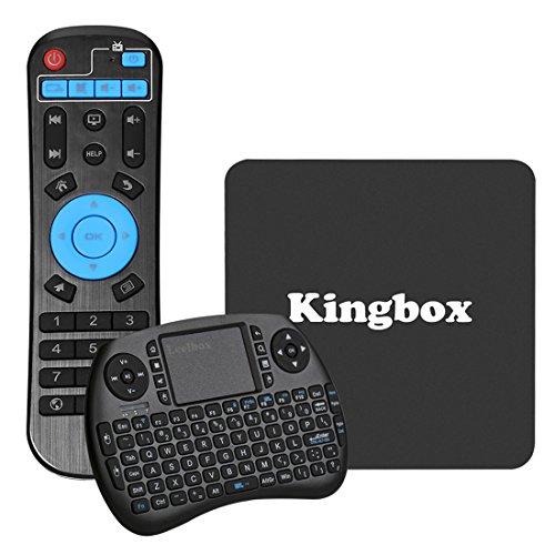 Kingbox K1 Android 6.0 TV BOX with Mini Keyboard 4K/S905X/64