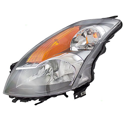 07 nissan altima headlight lens - 2